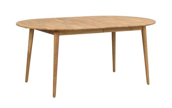 Bild på Tyler matbord ovalt 170/210 ek